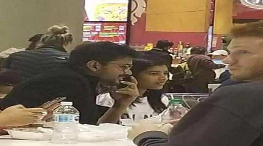 vijay with daughter divya saasha: மகளுடன்
