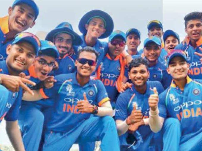 अंडर-१९ आशिया कपः भारत सहाव्यांदा चॅम्पियन