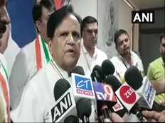 attacking innocent is not right says congress leader ahmed patel