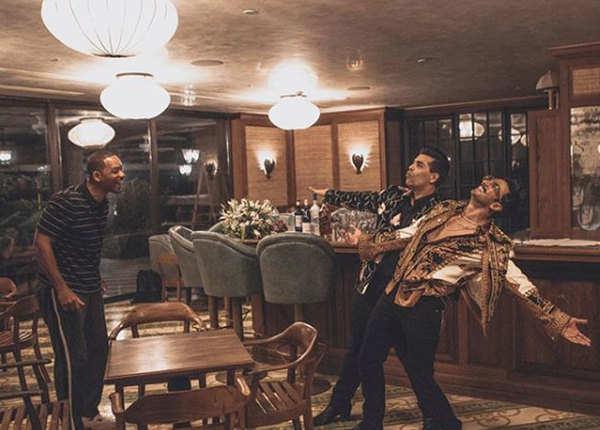करण-रणवीर के साथ विल ने शेयर की तस्वीरें