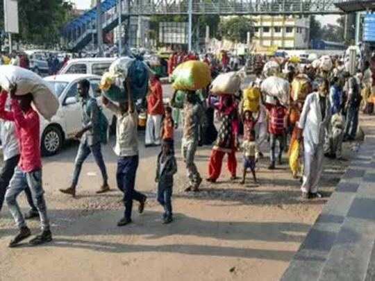 Migrants in Gujarat: गुजरातमध्ये परत या, उत्तर भारतीयांना आवाहन
