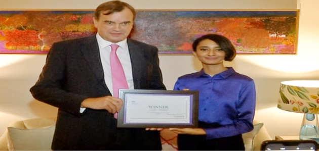भारतीय छात्रा इशा बहल बनीं एक दिन के लिए ब्रिटिश हाई कमिश्नर
