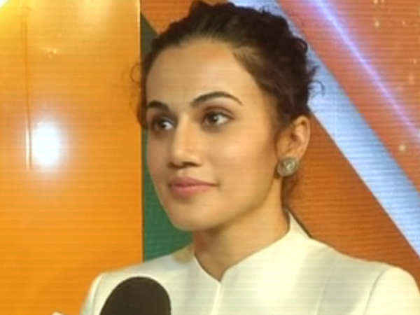 happy that people are coming out talking about it taapsee pannu on tanushree dutta