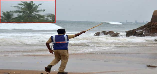 'तितली' तूफान को लेकर मौसम विभाग ने अलर्ट जारी किया