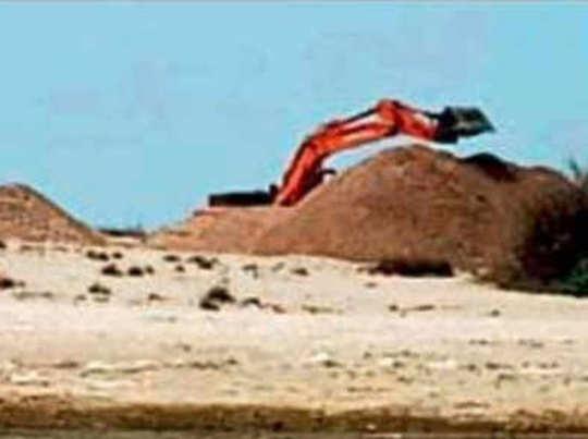 गुजरात के तटक्षेत्र में खुदाई