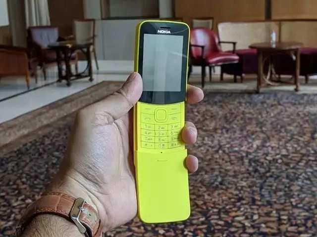 Nokia 8110 4G 'Banana Phone' भारत में लॉन्च, जानें कीमत