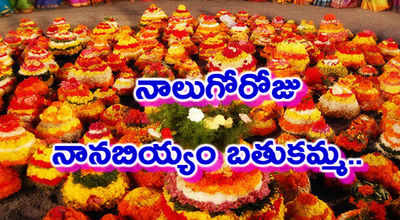 bathukamma festival essay in telugu language