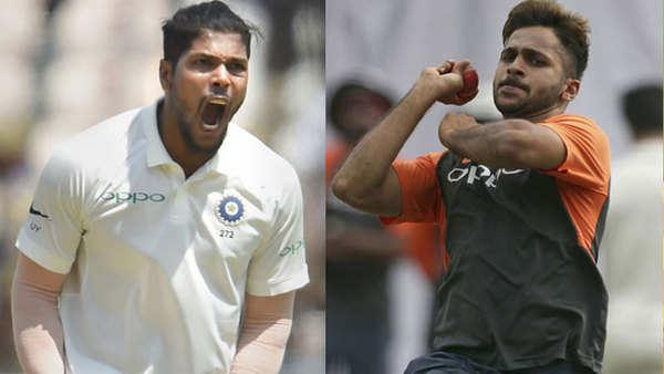 ind vs wi 1st day umesh yadav shines after shardul thakur injury