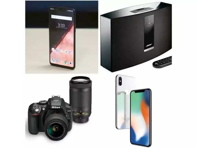टीवी, मोबाइल, कैमरे और अन्य सामान पर पाएं बंपर छूट