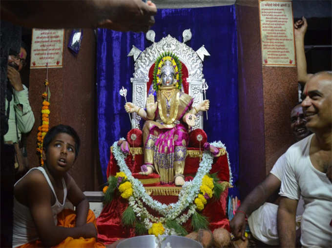 अंबाबाई आणि त्र्यंबोली देवीच्या भेटीचा सोहळा