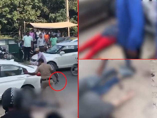 गुड़गांव: बीच सड़क पर हेड कॉन्सटेबल ने जज की पत्नी, बेटे को मारी गोली