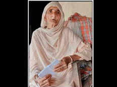 this is how 87 years old woman named kaushalya tells her village that she is alive in himachal pradesh