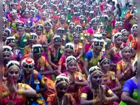 சிதம்பரம் நடராஜர் கோயிலில் நாட்டியாஞ்சலி நிகழ்ச்சி!