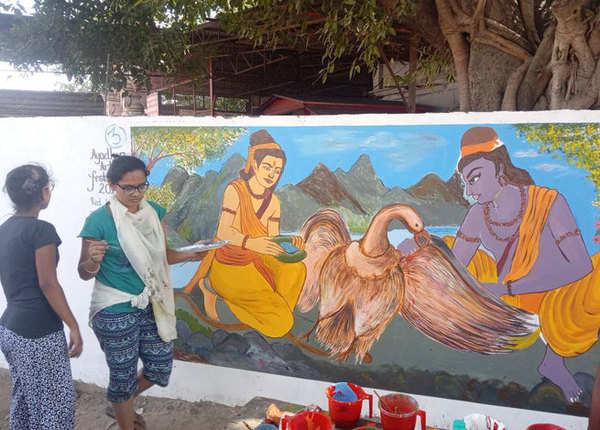 मालिनी अवस्थी ने ट्वीट की अयोध्या की खास तस्वीरें