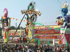 famous places to celebrate dussehra in india
