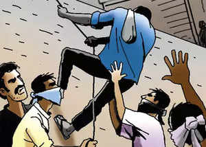 mumbai people in shock seven masked men looted six empty flats in 90 minutes