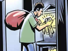 robber breaks into vacant bungalows in vasai makes himself at home for months