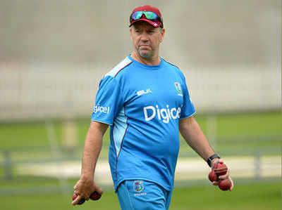 Image result for वेस्टइंडीज के कोच स्टुअर्ट लॉ दो वनडे मैच से निलंबित