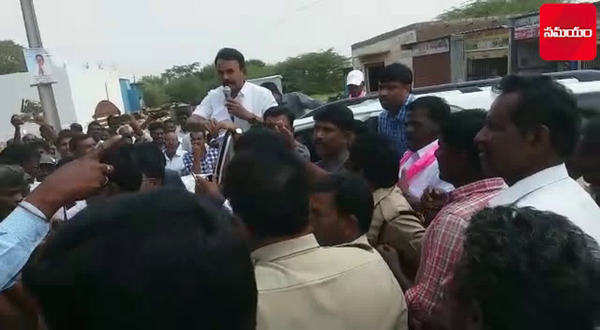 minister jupally krishna rao stopped by villagers