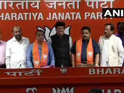 BJP Mein Shaamil Hue Goa Ke Do Congress Vidhaayak