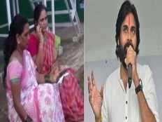 mla kidari sarveswara rao wife protest against pawan kalyan comments