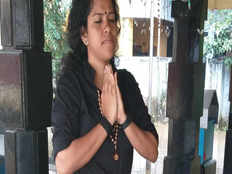 kozhikode native surya kalya ready to go sabarimala