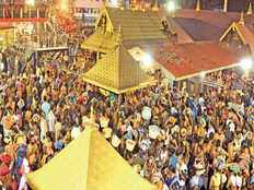 sabarimala all set to open for women today