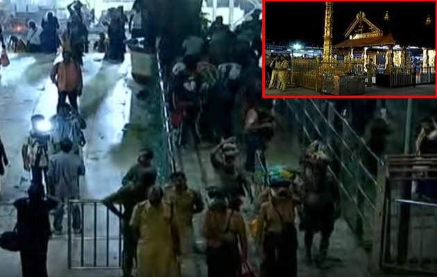 सबरीमाला मंदिर के कपाट खुले, श्रद्धालुओं ने किया दर्शन