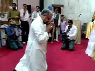 आरोपी बिशप का पंजाब में भव्य स्वागत किया गया।