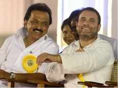 dmk may give less seats to congress and other allies in loksabha elections