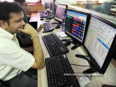 sensex today live 19 october 2018 stock market in red symbol sensex losses 400 points nifty 130 points low