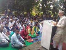 inld leader ashok arora attacks on haryana government because roadways workers strike