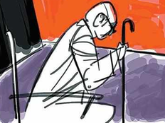 senior citizen in delhi writes letter to pm wants to go outside from old age home