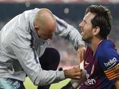 barcelonas lionel messi injured three weeks rest