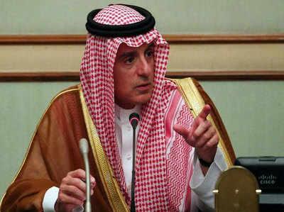 सऊदी अरब के विदेश मंत्री अदेल-अल-जुबेर