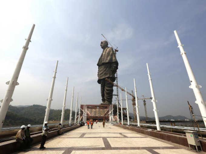 दुनिया की सबसे ऊंची प्रतिमा स्टैचू ऑफ यूनिटी