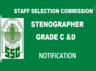 ssc stenographer 2018 notification released check details here