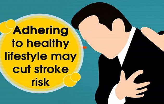 स्वस्थ जीवनशैली अपनाने से स्ट्रोक का जोखिम होता है कम