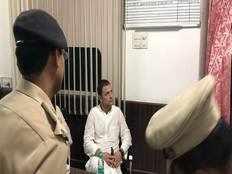police arrest congress president rahul gandhi held at lodhi police station
