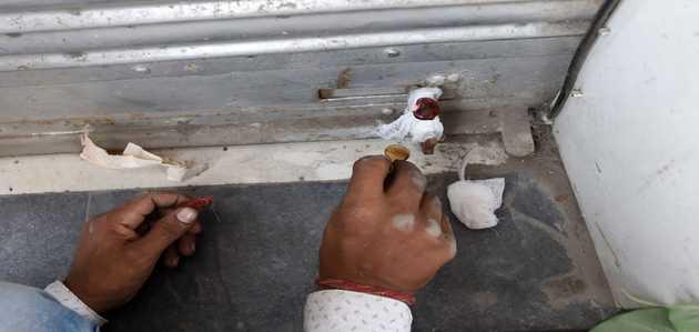 दिल्ली: अमर कॉलोनी में पुलिस के साथ फिर पहुँची सीलिंग टीम