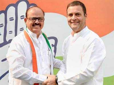 राहुल गांधी के साथ तारिक अनवर।