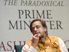 modi is a scorpion on a shivling says shashi tharoor