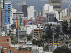 bolivias capital plans to cut pollution using more cable car facilities