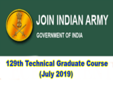 tgc 129 notification 2019 released apply online for 40 posts in indian army