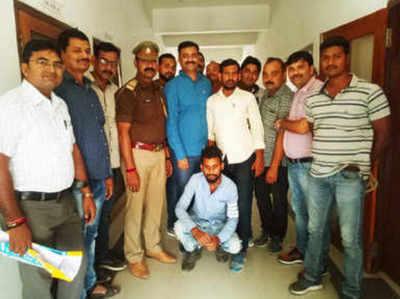 पुलिस हिरासत में आरोपी रोहित