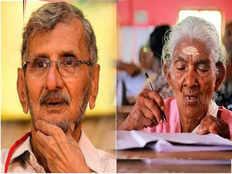 writer n s madhavan about karthyayani amma who clears keralas literacy exam