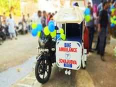 crpf launches bike ambulance in jharkhand for healthcare facilities in naxal hit regions