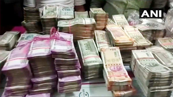 rajasthan ats seized cores cash gold and silver from ashram express