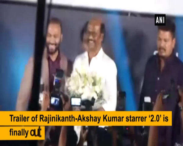 rajinikanth all praises for akshay kumar at 2 0 trailer launch