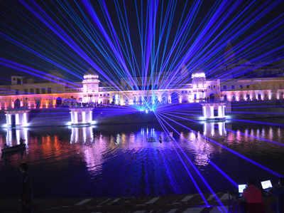अयोध्या में लेजर शो के लिए खास तैयारियां